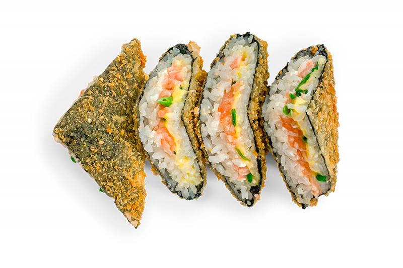 Сендвич с лососем х/к
