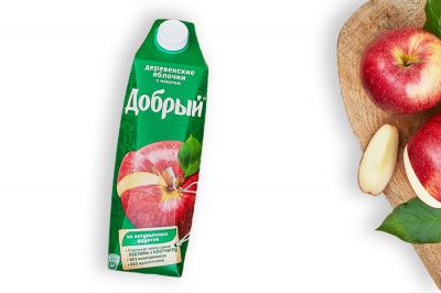 """Сок """"Добрый"""" Деревенские яблочки"""